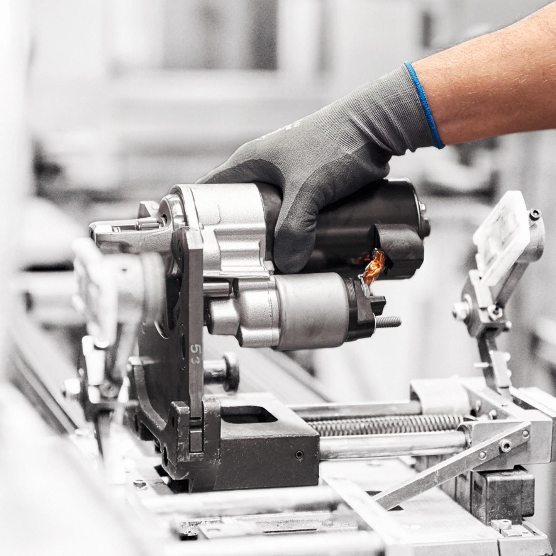 Produktion PKW Starter