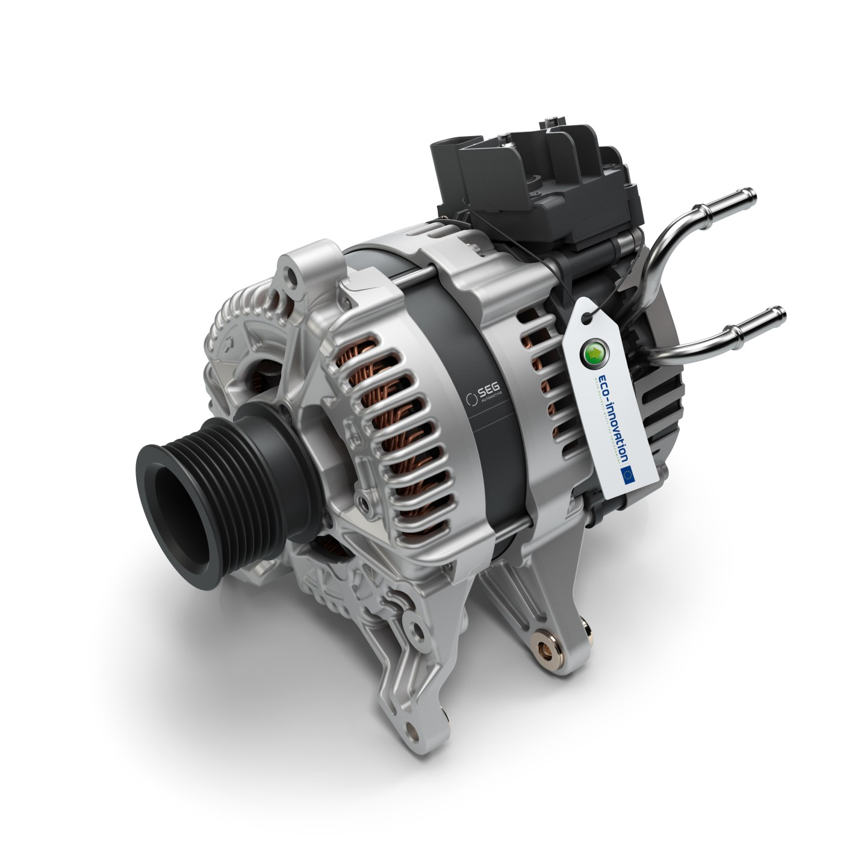 EU Eco Innovation 48V Boost Recuperation Machine (BRM)