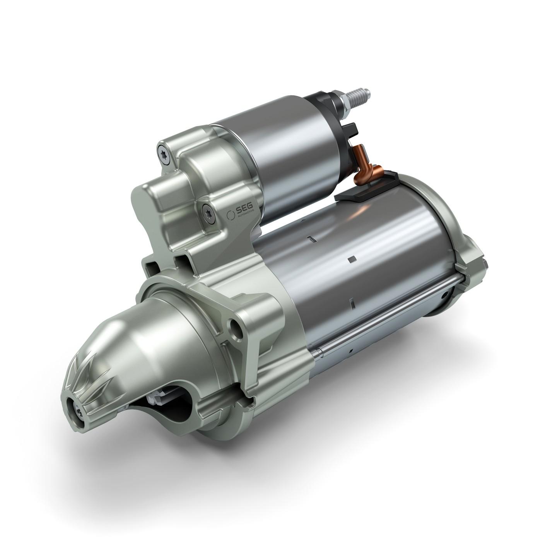 适用于更高功率需求的C 70 乘用车(起动/停止系统)起动机