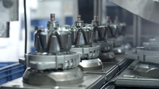 Generator-Produktionslinie