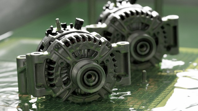 Generator Tauchbad-Test