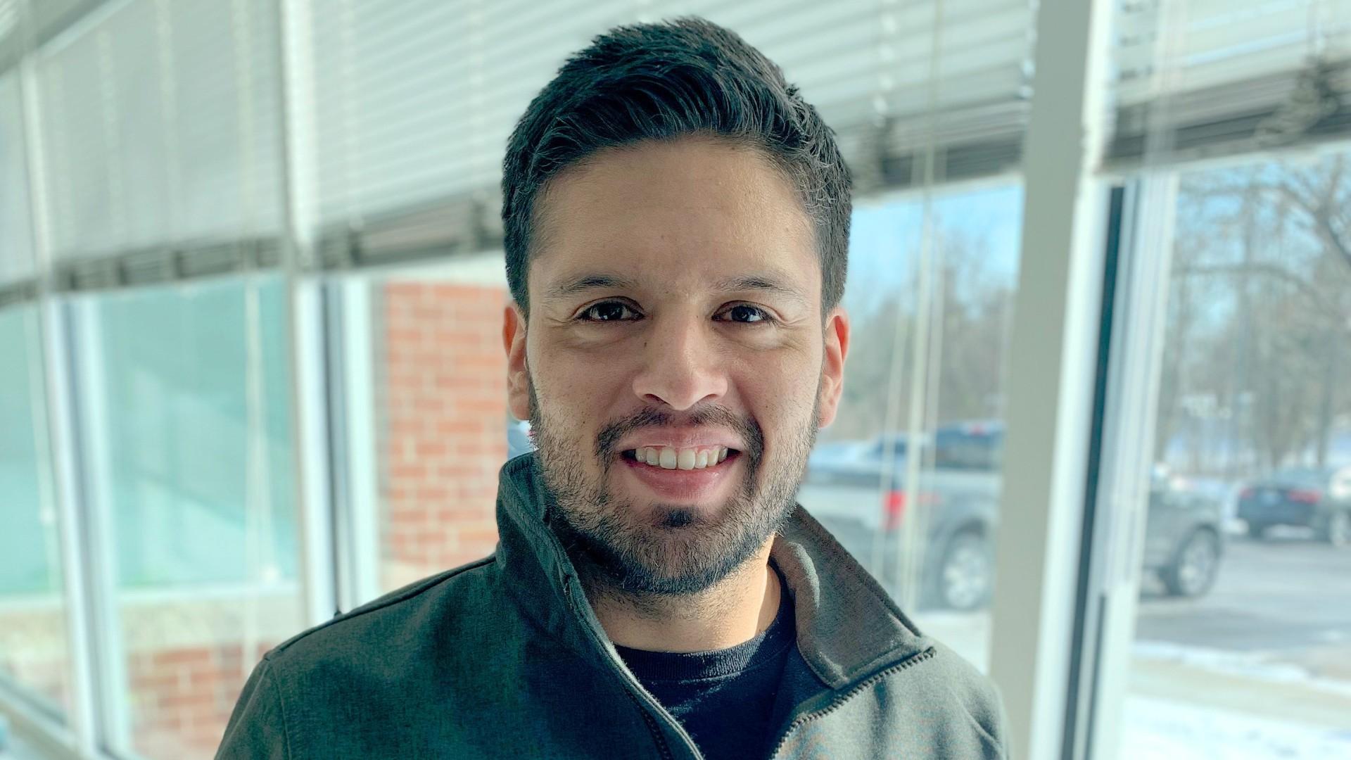 Mauricio, triathlete, working in the customer team at SEG Automotive
